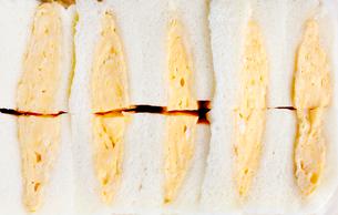 タマゴサンド 玉子サンド たまごサンドの写真素材 [FYI03429953]