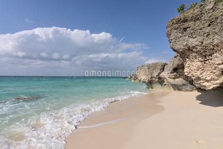 宮古島/来間島・長間浜ビーチの11月の風景の写真素材 [FYI03430005]