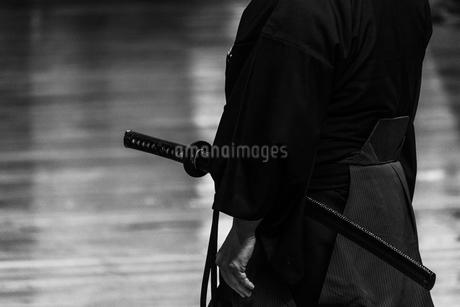 居合道の演武の写真素材 [FYI03430125]