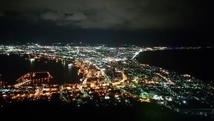 函館山の夜景の写真素材 [FYI03430178]