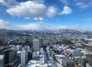 行く景色の札幌の写真素材 [FYI03430296]