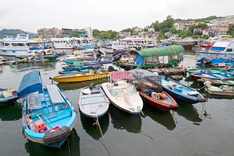香港 西貢 サイコンの写真素材 [FYI03430342]