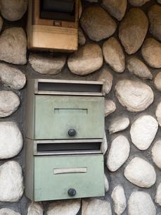 古い郵便ポストの写真素材 [FYI03430625]