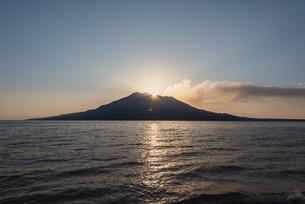ダイヤモンド桜島の写真素材 [FYI03430845]