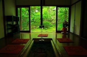 新緑の宝泉院の写真素材 [FYI03430989]