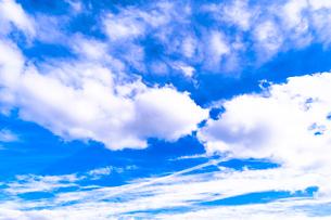 青空の写真素材 [FYI03431096]