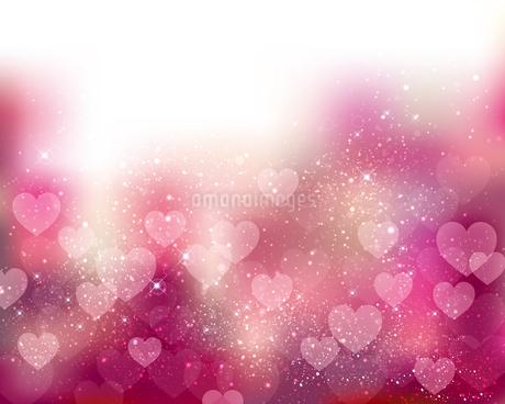 ハート ピンク 背景のイラスト素材 [FYI03432359]