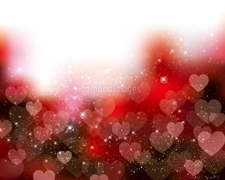 ハート 赤 背景の写真素材 [FYI03432448]