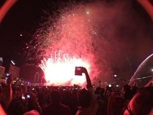 カウントダウン イベント シンガポールの写真素材 [FYI03432473]