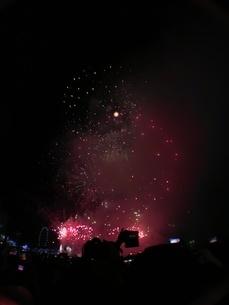 カウントダウン イベント シンガポールの写真素材 [FYI03432474]