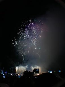 カウントダウン イベント シンガポールの写真素材 [FYI03432475]