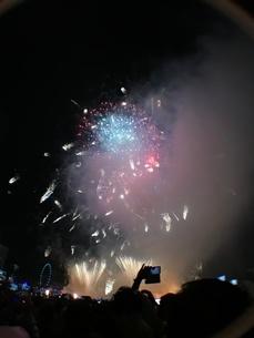 カウントダウン イベント シンガポールの写真素材 [FYI03432476]