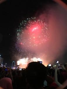 カウントダウン イベント シンガポールの写真素材 [FYI03432478]