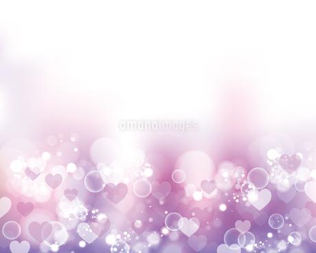 ハート ピンク 背景のイラスト素材 [FYI03432491]