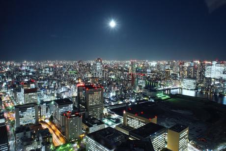 港区の夜景の写真素材 [FYI03433148]