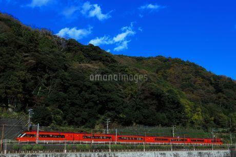 小田急ロマンスカーGSEの写真素材 [FYI03433238]