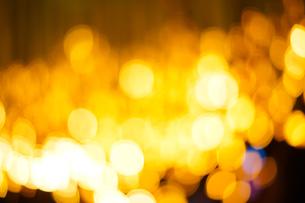 クリスマスイルミネーションのイメージ(背景素材)の写真素材 [FYI03433502]