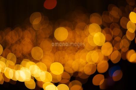 クリスマスイルミネーションのイメージ(背景素材)の写真素材 [FYI03433503]