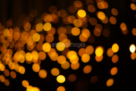クリスマスイルミネーションのイメージ(背景素材)の写真素材 [FYI03433507]