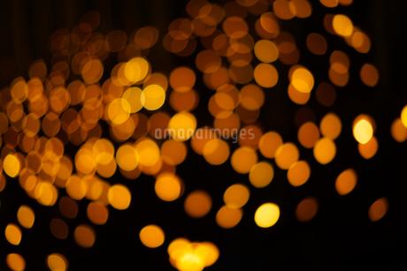 クリスマスイルミネーションのイメージ(背景素材)の写真素材 [FYI03433510]