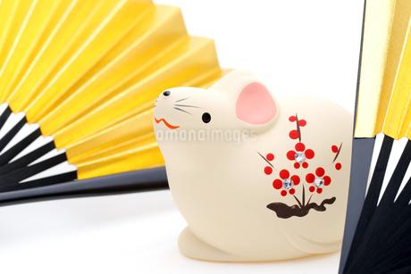干支 鼠の写真素材 [FYI03434023]
