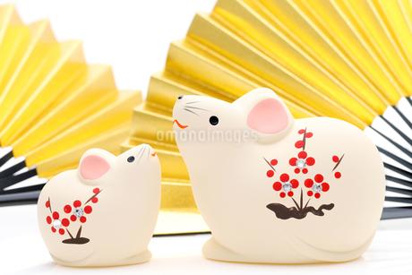 干支 鼠の写真素材 [FYI03434025]
