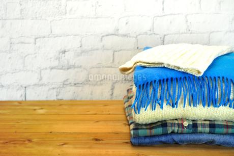 冬物衣類の写真素材 [FYI03434257]