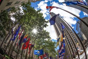 ロックフェラーセンターのイメージ(ニューヨーク)の写真素材 [FYI03434281]