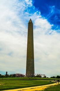 ワシントン記念塔のイメージの写真素材 [FYI03434305]