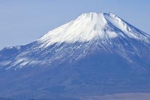 初冬の富士山の写真素材 [FYI03434402]