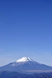 初冬の富士山の写真素材 [FYI03434419]