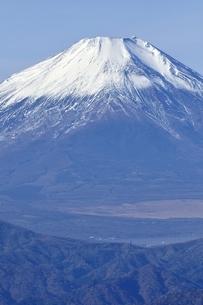 初冬の富士山の写真素材 [FYI03434437]