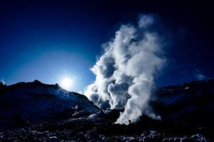 硫黄山の写真素材 [FYI03434562]