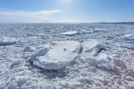 流氷の写真素材 [FYI03434569]