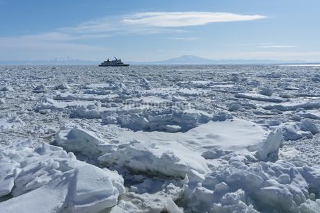 流氷の写真素材 [FYI03434571]