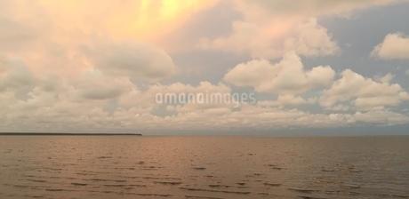 オレンジの海の写真素材 [FYI03434631]