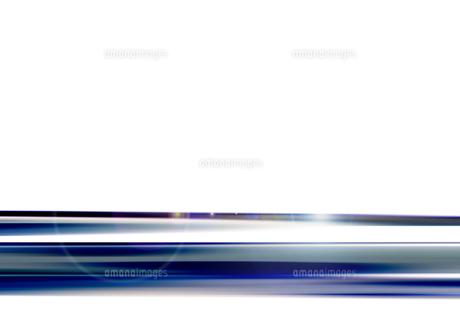 寒色系のアブストラクト背景のイラスト素材 [FYI03434858]