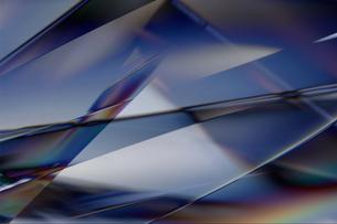 クールなガラス質感のメタリックなアブストラクトのイラスト素材 [FYI03434917]