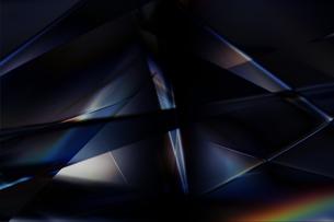 クールなガラス質感のメタリックなアブストラクトのイラスト素材 [FYI03434926]