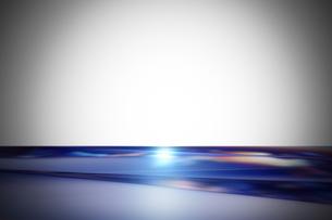 クールなガラス質感のメタリックなアブストラクトのイラスト素材 [FYI03434930]