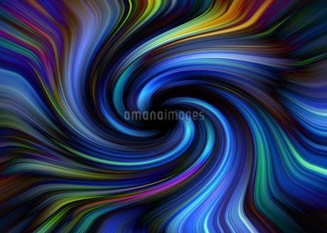 光り輝く渦巻きのイメージグラフィックの写真素材 [FYI03434991]