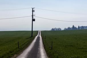 続く道の写真素材 [FYI03435025]