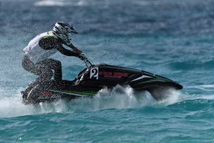 水上オートバイの写真素材 [FYI03435040]