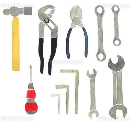 工具9種類セットのイラスト素材 [FYI03435299]
