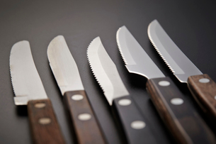 テーブルナイフの写真素材 [FYI03435421]