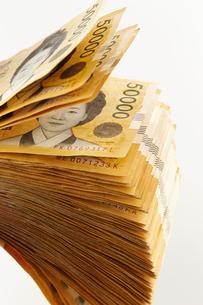 韓国のお金の写真素材 [FYI03435443]