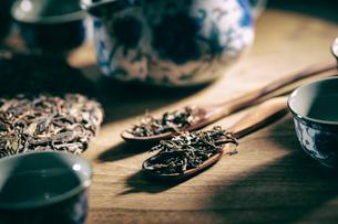 中国茶の写真素材 [FYI03435469]