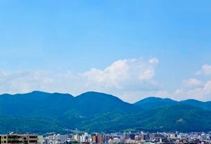 京都 青空 の写真素材 [FYI03435754]