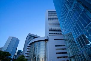 大阪 西梅田  オフィス街の写真素材 [FYI03435755]