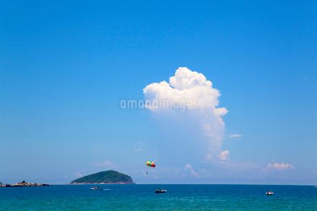 海南島 リゾート 背景 中国の写真素材 [FYI03435810]
